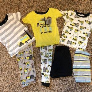Truck pajama bundle!